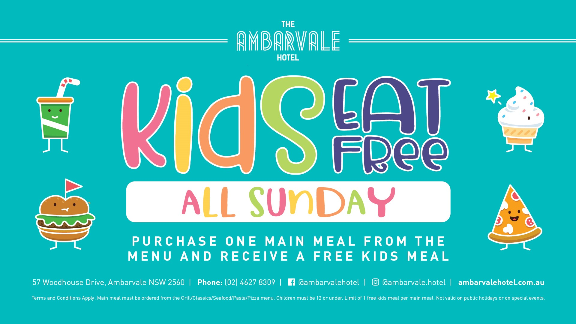 Kids Eat Free Sunday Plasma